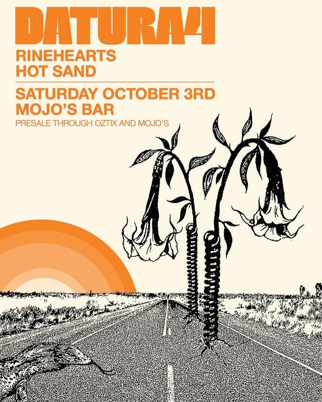 Rinehearts support Datura4 at Mojos Bar Fremantle.