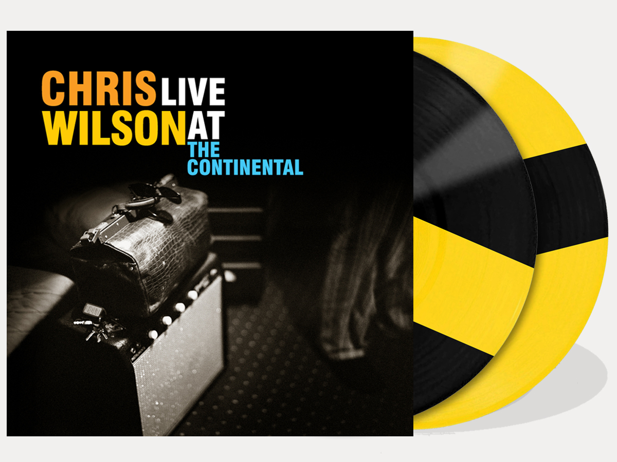 Chris Wilson - Live at the Continental - coloured vinyl