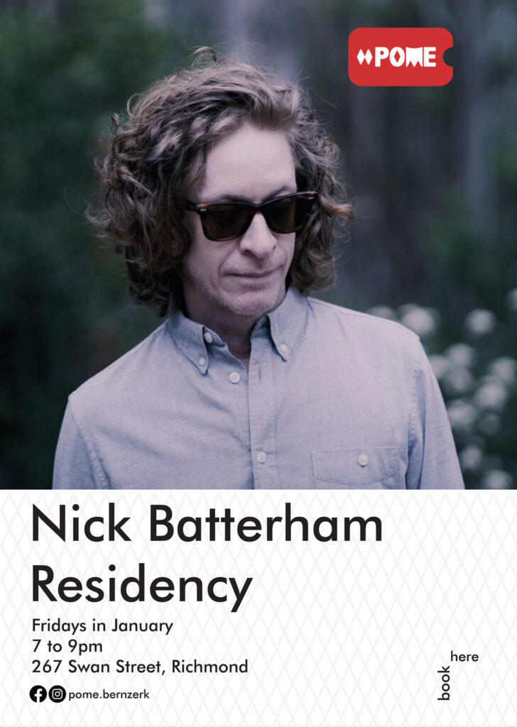 Nick Batterham POME residency