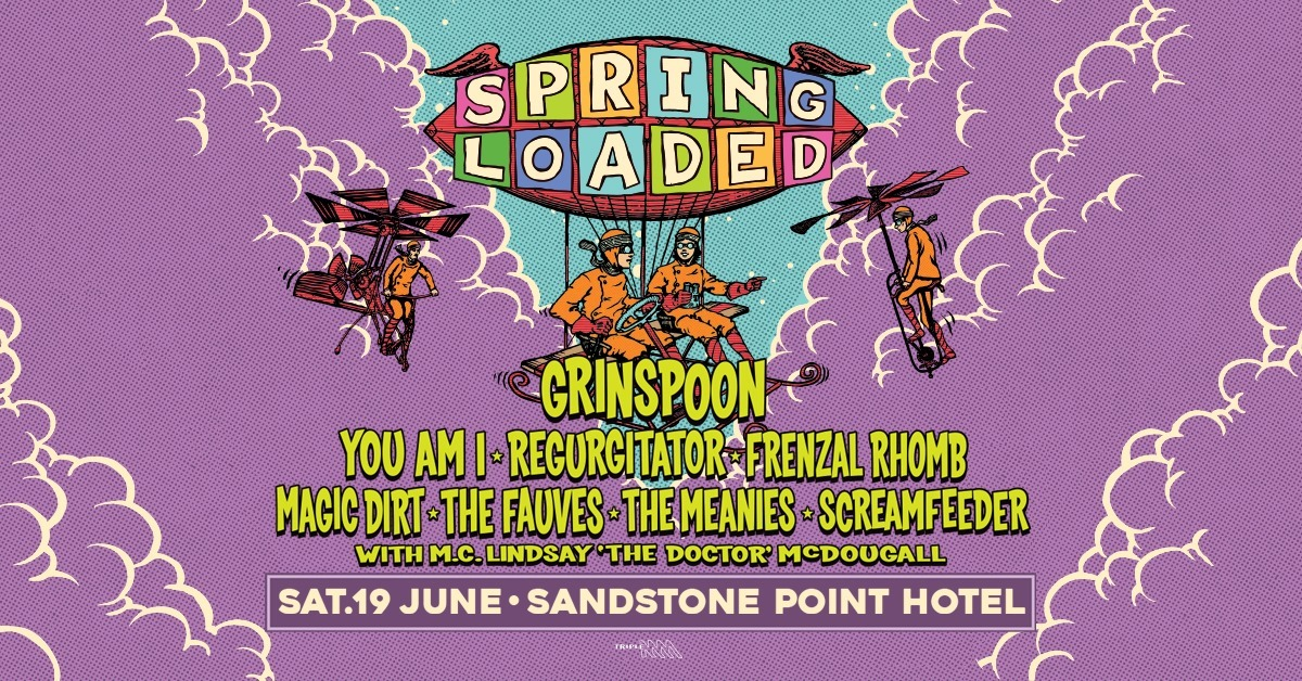 Spring Loaded 2021 Sandstone Point