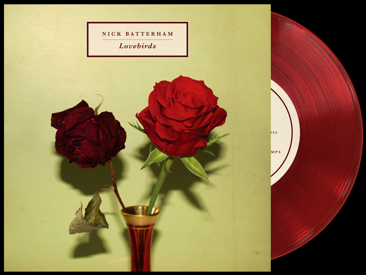 Nick Batterham - Lovebirds - red vinyl