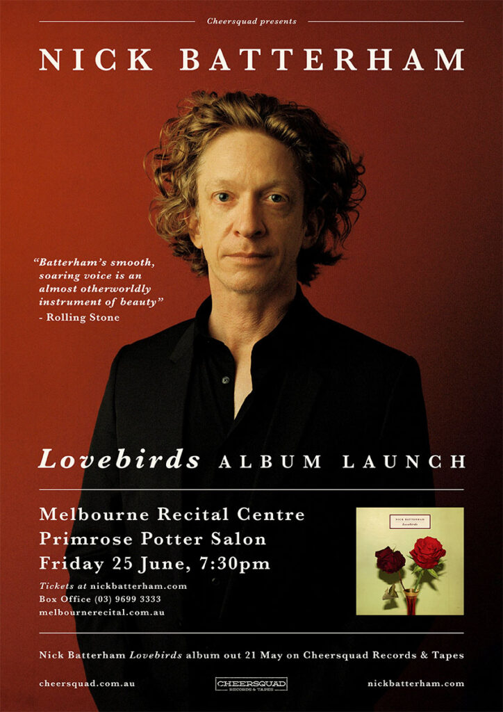 Nick Batterham - Lovebirds Album Launch