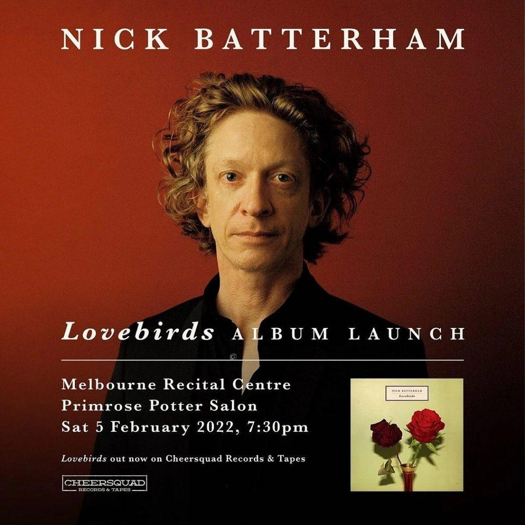 Nick Batterham album launch 5 Feb 2022