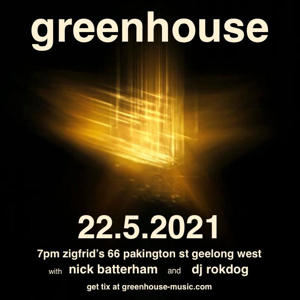 Nick Batterham supports Greenhouse