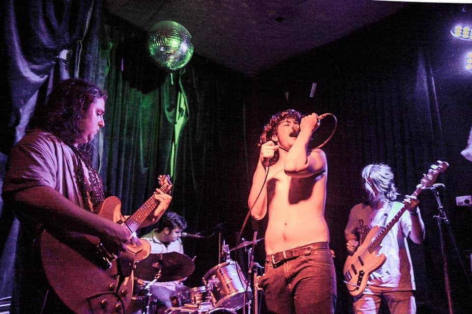 Persecution Blues + Super American Eagle + Cheeky Geezers at the Tote
