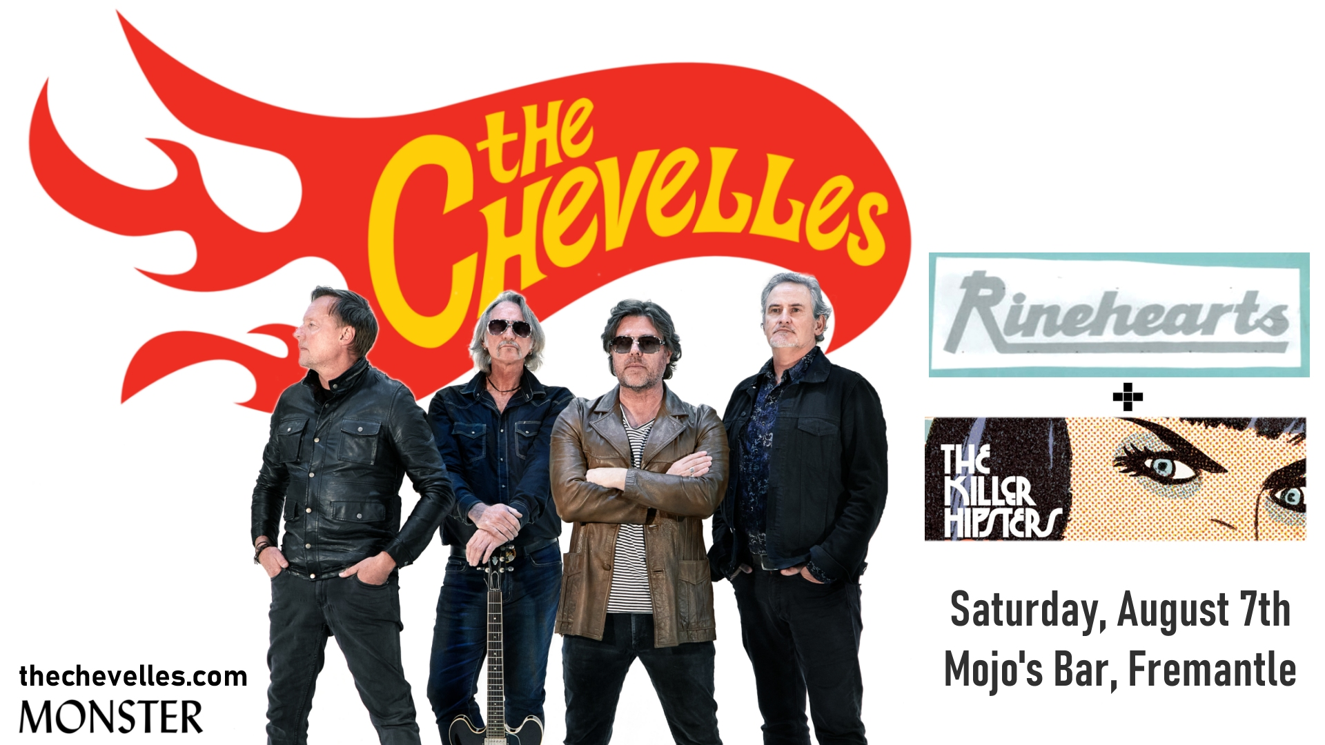 Rinehearts support The Chevelles