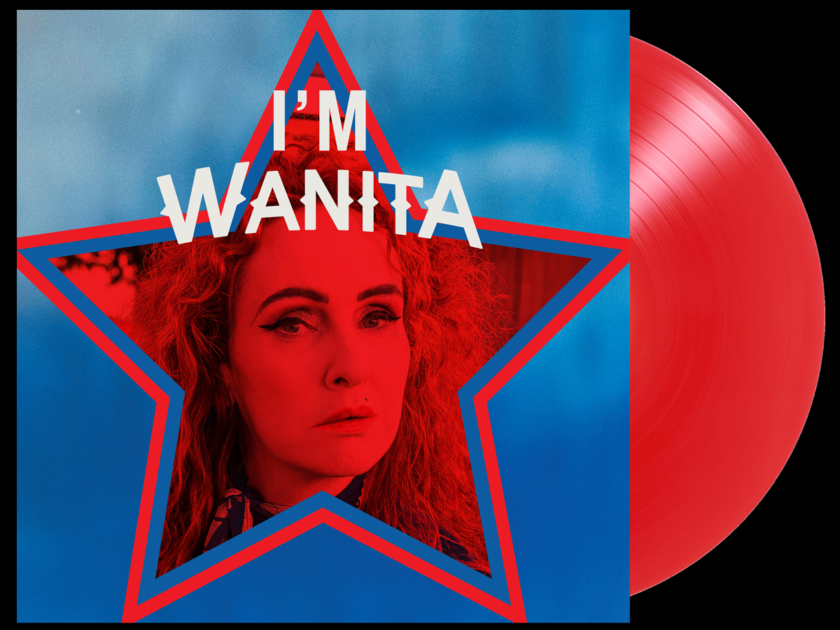 Wanita - I'm Wanita - red vinyl