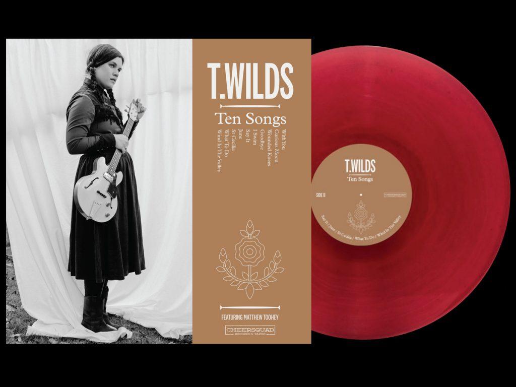 T. Wilds -Ten Songs - red vinyl