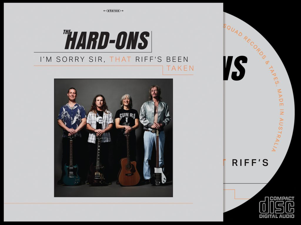 The Hard-Ons - I'm Sorry Sir, That Riff's Been Taken - CD