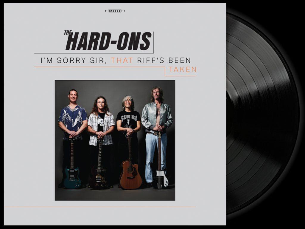 The Hard-Ons - I'm Sorry Sir, That Riff's Been Taken - black vinyl